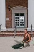 Woman Student — Stock Photo