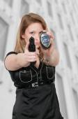 Female Detective — Stock Photo