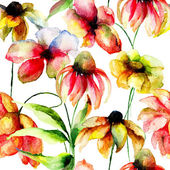 Fleurs sauvages — Photo