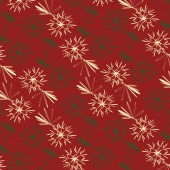 Christmas abstract snowflakes pattern background — Stock Vector