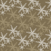 Christmas abstract snowflakes pattern background — Vecteur
