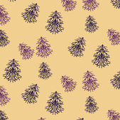 Kerstmis patroon achtergrond — Stockvector