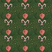 Christmas pattern background — ストックベクタ