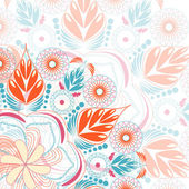 Floral lace background — Stock Vector