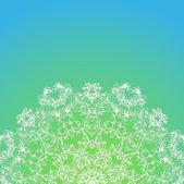 莲座丛的花纹 — 图库矢量图片