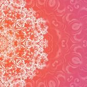 Decorative Rosettes pattern — Stock Vector