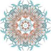 Decorative Rosettes pattern — Wektor stockowy