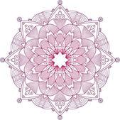 Decorative Rosettes pattern — Stok Vektör