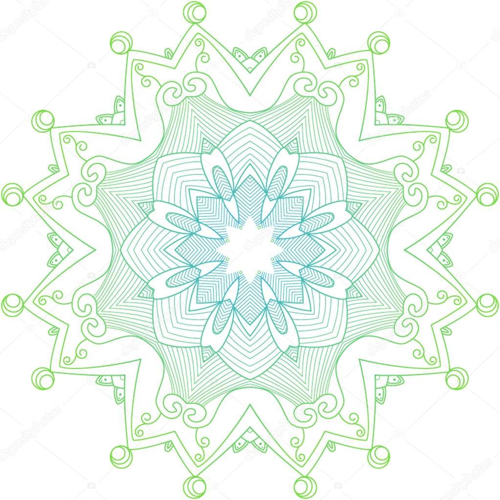 矢量花环图案,装饰元素 — 图库矢量图片#70213503