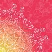 Decorative Rosettes pattern — Vector de stock