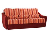 Sofá en blanco — Foto de Stock