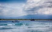 Gili Travangan coastline — Stock Photo