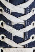 Shoelaces close-up — Stock Photo
