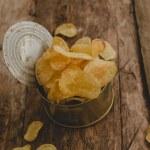 Delicious potato chips — Stock Photo #55034979