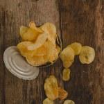 Delicious potato chips — Stock Photo #55034995