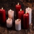 Beautiful candles — Stock Photo #57887719