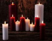 Beautiful candles — Stock Photo