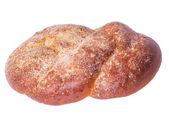 Delicious bread on a white — Foto de Stock