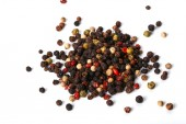 Heap of peppercorn on a white — Foto de Stock