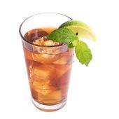 レモン茶のガラス — ストック写真