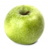 Délicieuse pomme verte — Photo