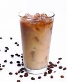 Bicchiere di caffè freddo — Foto Stock