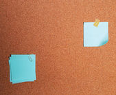 Paper stickers for the notes — Stock Photo