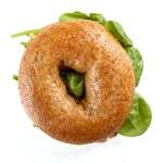 Delicious bagel sandwich — Stock Photo #73111843