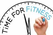 Tempo para fitness — Foto Stock