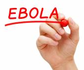 Ebola Red Marker — Foto Stock