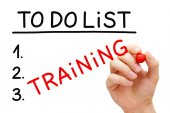 Training To Do List Concept — Stock Photo