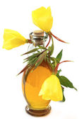 Evening primrose oil — Stock Photo