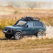 Offroad vehicle on rally competition — Stock Photo #54398069