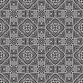Ornamento de patrones sin fisuras étnicos imprimir diseño — Vector de stock