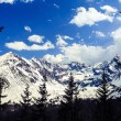 Mountains landscape, sunny day in Tatras — Stock Photo #72128333
