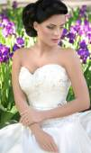 Bride with stylish make-up — Stock Photo