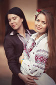 Ukrainian beautiful girls — Stockfoto