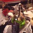 Old accessories of witch — Stockfoto #65550493
