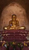 Starověká architektura starých buddhistických chrámů v bagan království, m — Stock fotografie