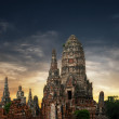 Asian religious architecture. Amazing panorama view of ancient C — Stock Photo #53813955