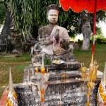 Statues at Wat Xieng Khuan Buddha park. — Stock Photo #54501973