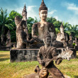 Statues at Wat Xieng Khuan Buddha park. — Stock Photo #54502013