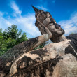 Statues at Wat Xieng Khuan Buddha park. — Stock Photo #54502015