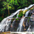 Waterfall at tropical rain forest — Stock Photo #58249089