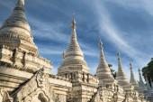 Sandamuni Pagoda. Mandalay, Myanmar (Burma) travel — Stock Photo