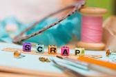 Scrapbooking — Zdjęcie stockowe