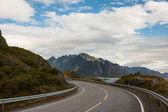 Lofoten road  — Stock Photo