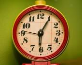Oude alarm klok — Stockfoto