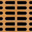 Rusty drain grate seamless background texture — Stock Photo #57215109