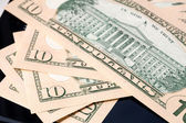 Dix dollars closeup — Photo